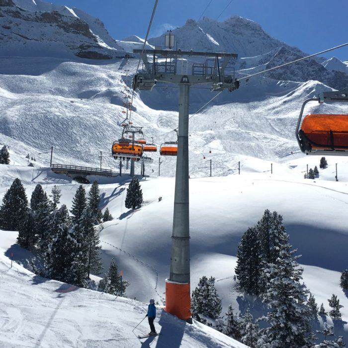 Esprit | One of the Obergurgl chairlifts