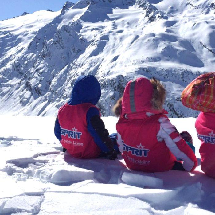 Esprit   Esprit children enjoying the view