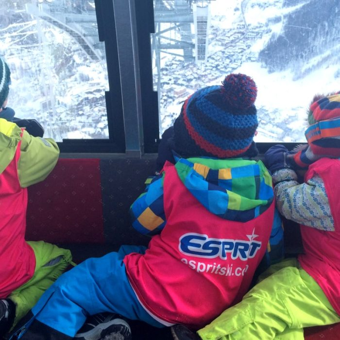 Esprit | Spritelets enjoying the view down to Val d'Isere