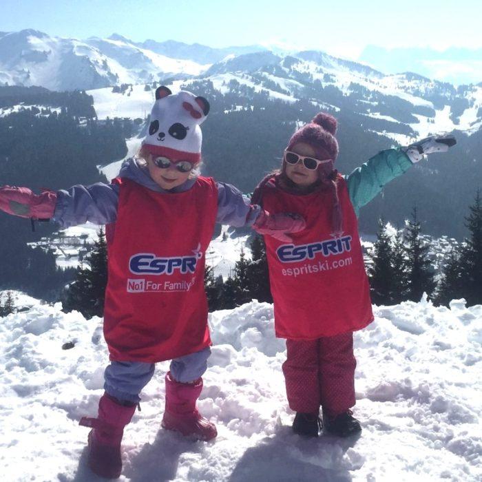 Esprit   Happy Esprit children on top of the mountains