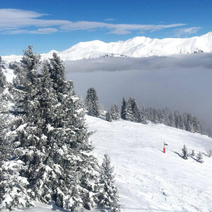 Esprit | Above the clouds in Courchevel
