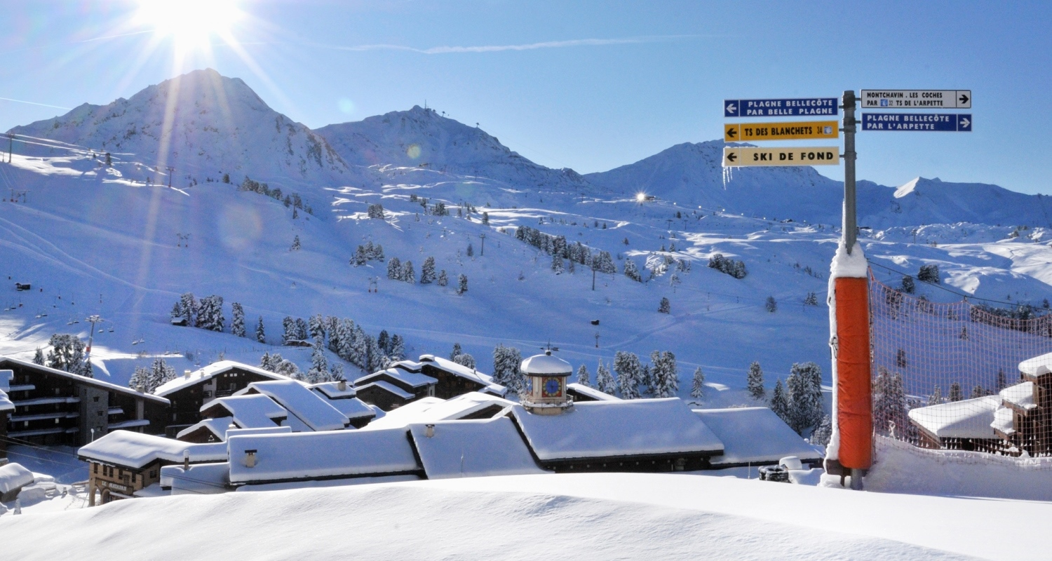 Family Ski Holidays in Belle Plagne France Esprit Ski