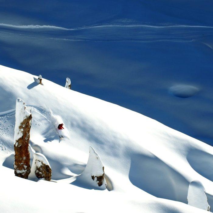 Esprit | Off Piste Skiing in the Lap Plagne ski area ©Philippe Royer