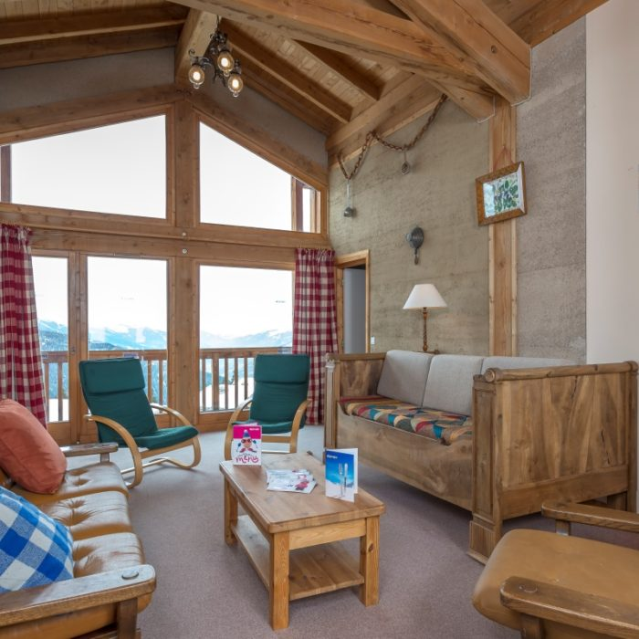 Esprit | Shared lounge on the 4th floor in the Chalet Schatzi