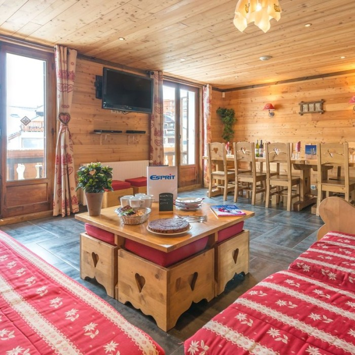 Esprit  Lounge area in the Chalet Christian