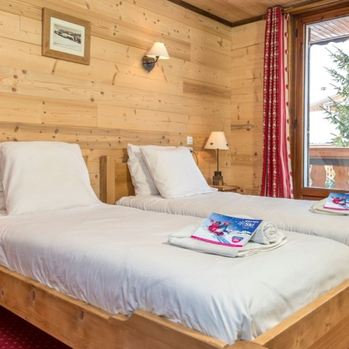 Esprit   Twin bedroom in the Chalet Christian