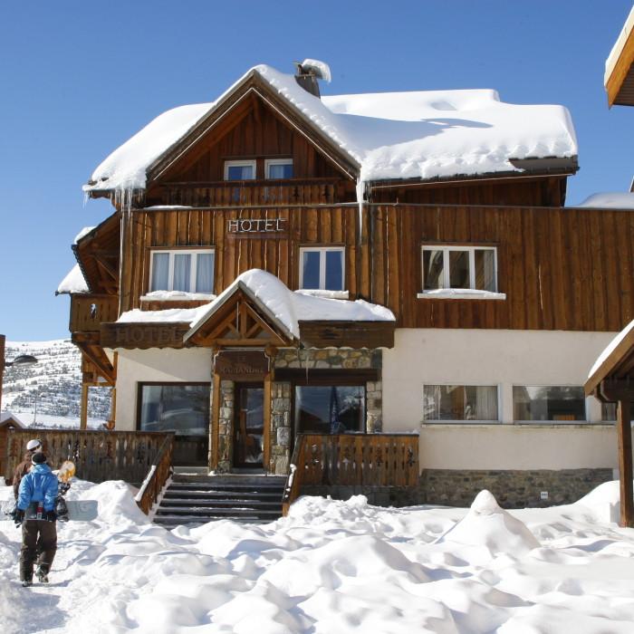Esprit Ski | Chalet Hotel Mariandre exterior, Alp d'Huez