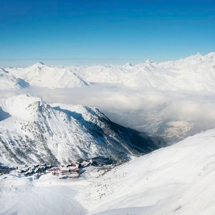 Esprit   Skiing in the beautiful Les Arc area