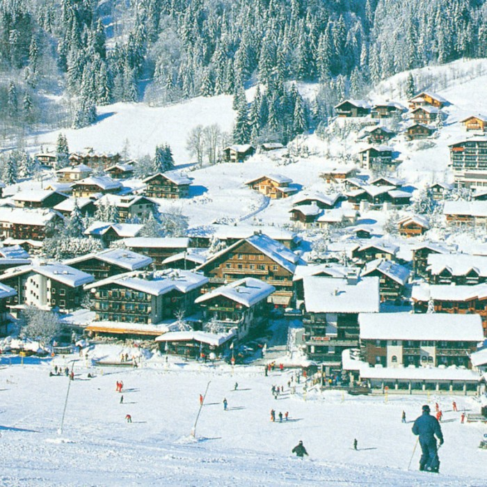 Esprit | View of Les Gets from the slopes