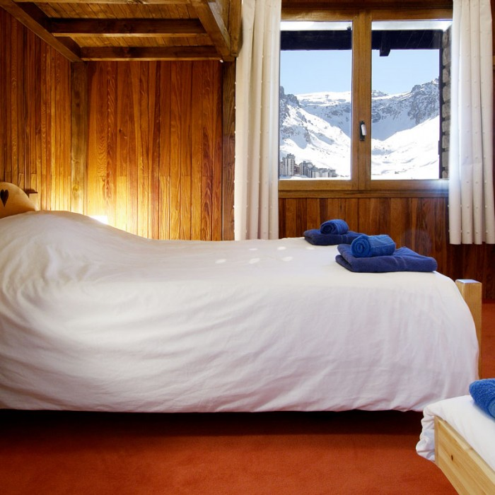 Esprit | Double bedroom in the Chalet Caribou