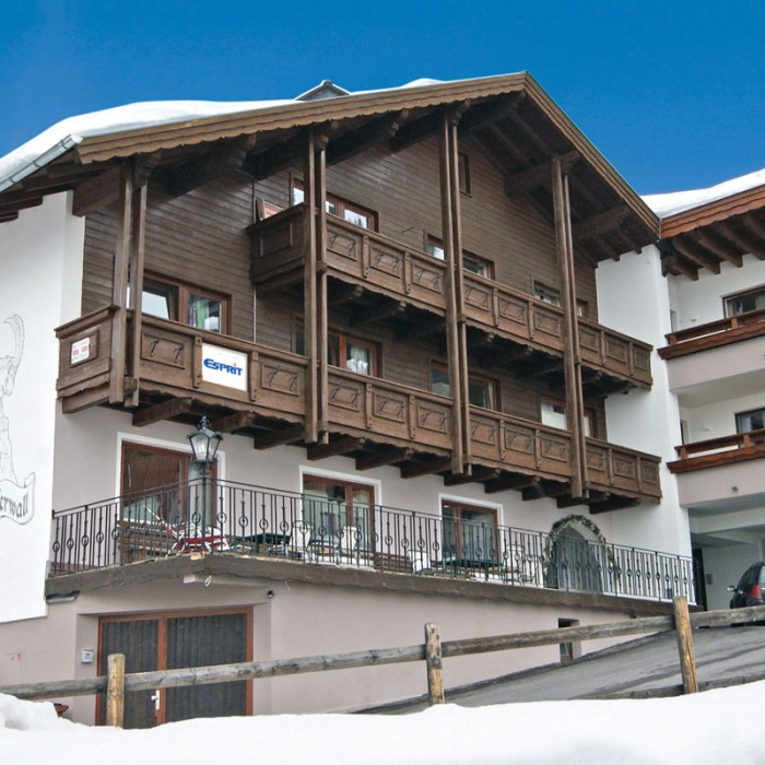 Esprit | Exterior view of the Chalet Verwall