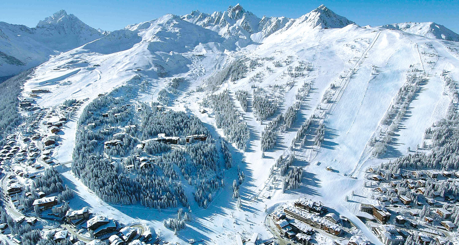 Image result for courchevel skiing