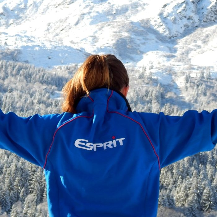 Esprit | Esprit staff member loving the view