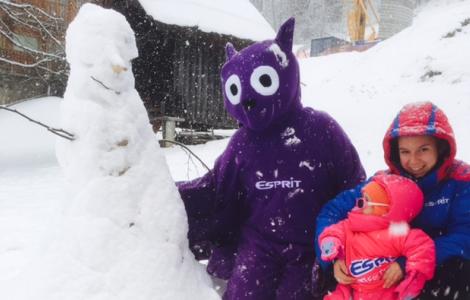 Esprit | Bat week Bertie having fun in the snow