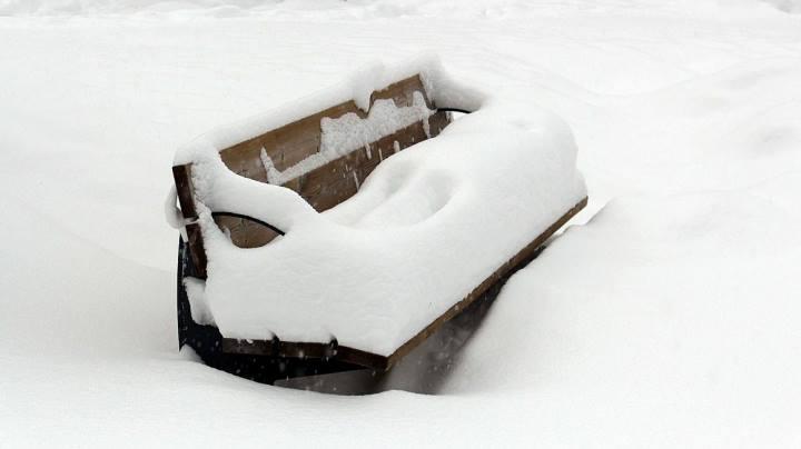Esprit | overnight snowfall in St Anton 09.01.2017