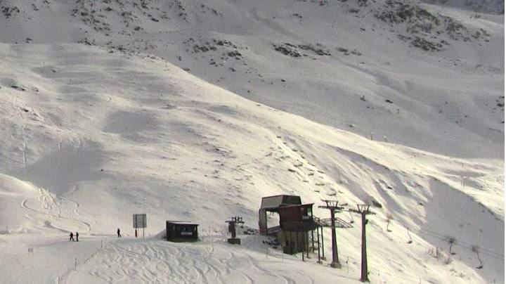 Esprit | St Anton Rendl ski area looking very snowy with the lifts on the right hand side