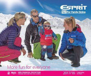 Esprit | New brochure front cover