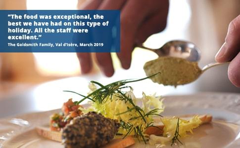 Chalet & Chalet Hotel Cuisine   Esprit Ski
